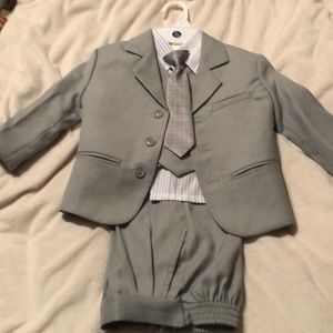 Other - 4 PIECE BOYS SUIT WORN ONCE - EXCELLENT CONDITION